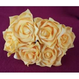 Ružica poliform 6kom žuta