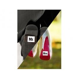 """Naljepnice za cipele """"Help"""", 2 kom."""
