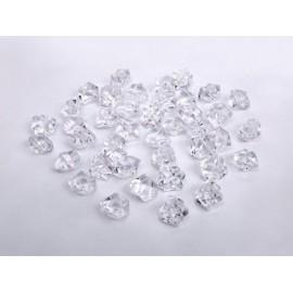 Kristali probušeni 200g. prozirni 110128