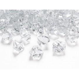 Kristal, 2,5 x 2,1 cm prozirni